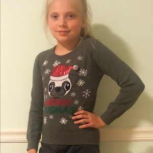 A Christmas sweater